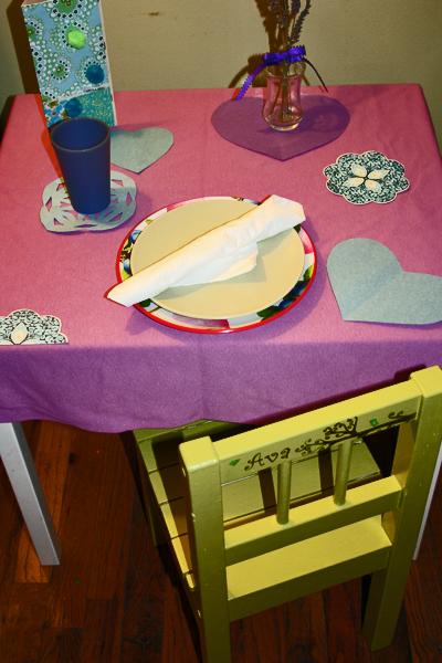 Birthday table 2